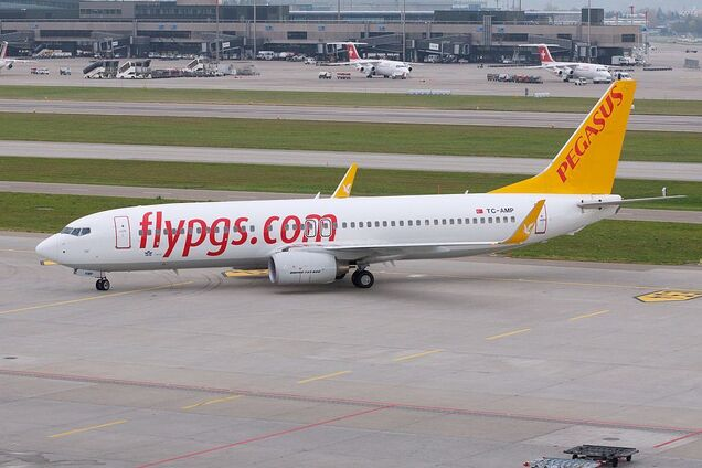 Pegasus Airlines поменяет Жуляны на Борисполь