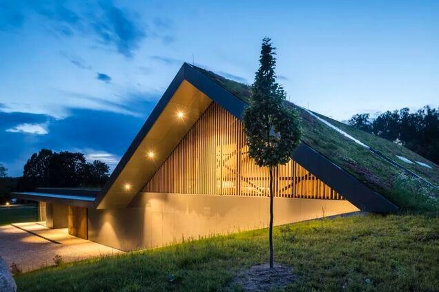 Архитекторы хотят сделать крышу дома частью ландшафта