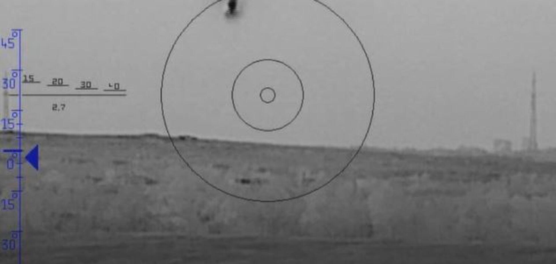 ЗСУ ракетою розгромили позицію 'Л/ДНР': момент потрапив на відео