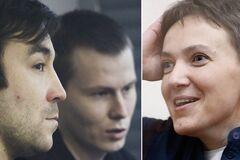 Євген Єрофєєв, Олександр Александров і Надія Савченко