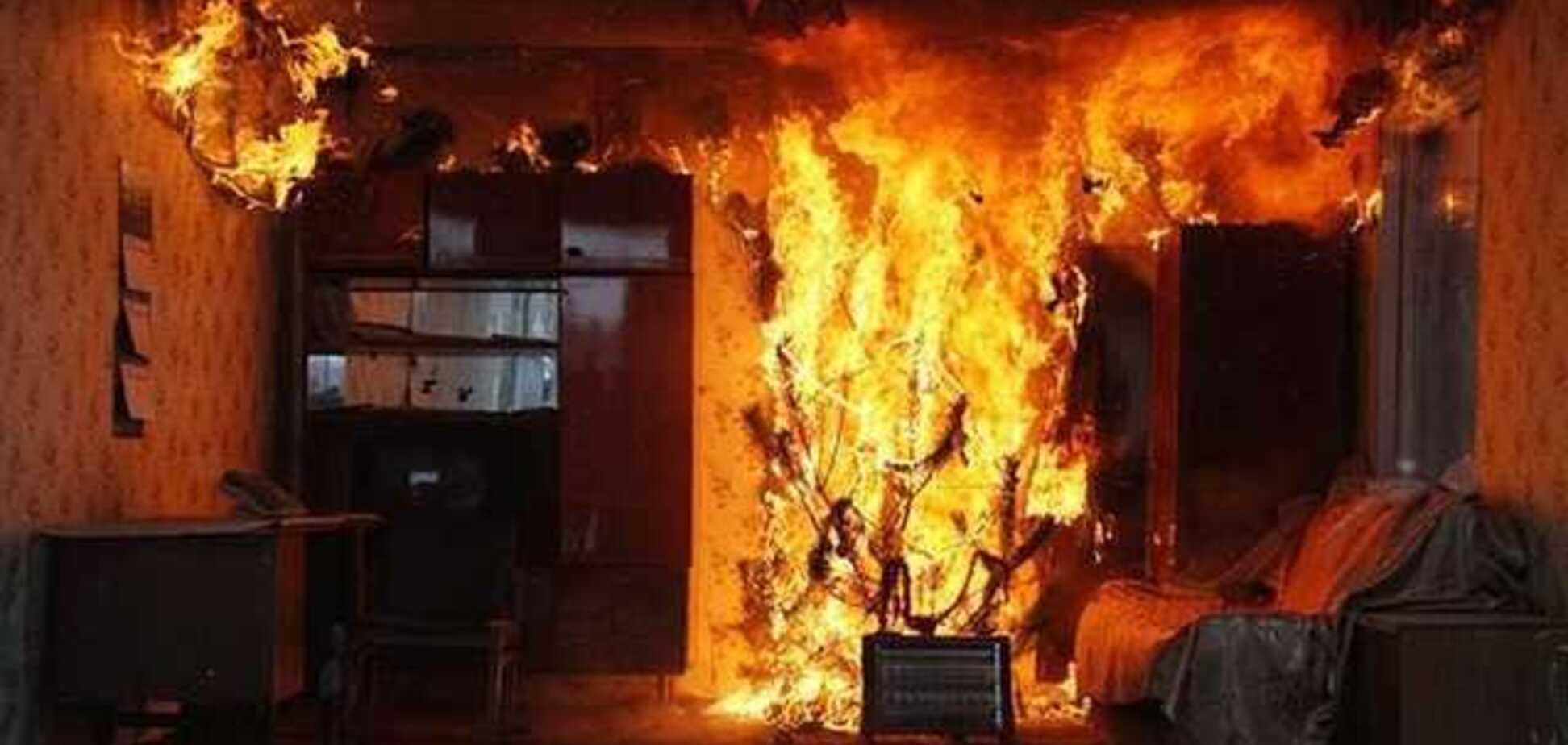 Ребенок сгорел заживо: на Черкасщине в новогоднюю ночь произошла трагедия