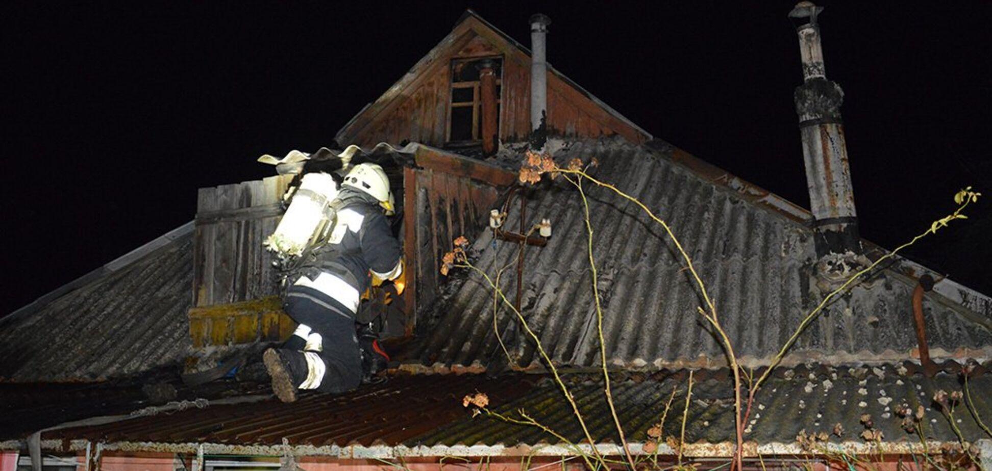 В Днепре из-за пожара новогодней ночи не дождались два человека. Фото и видео