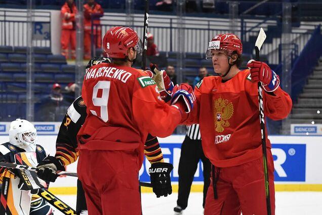 молодіжна збірна Росії з хокею