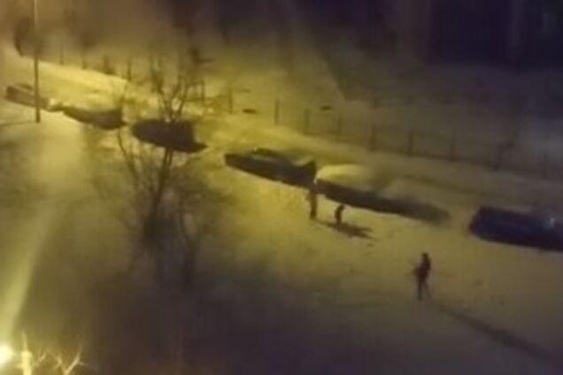 В России устроили стрельбу из автомата в Новый год