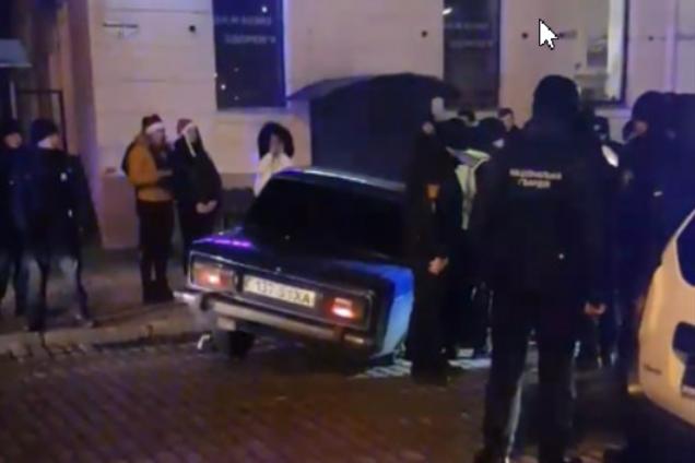 Погоня со стрельбой в Одессе