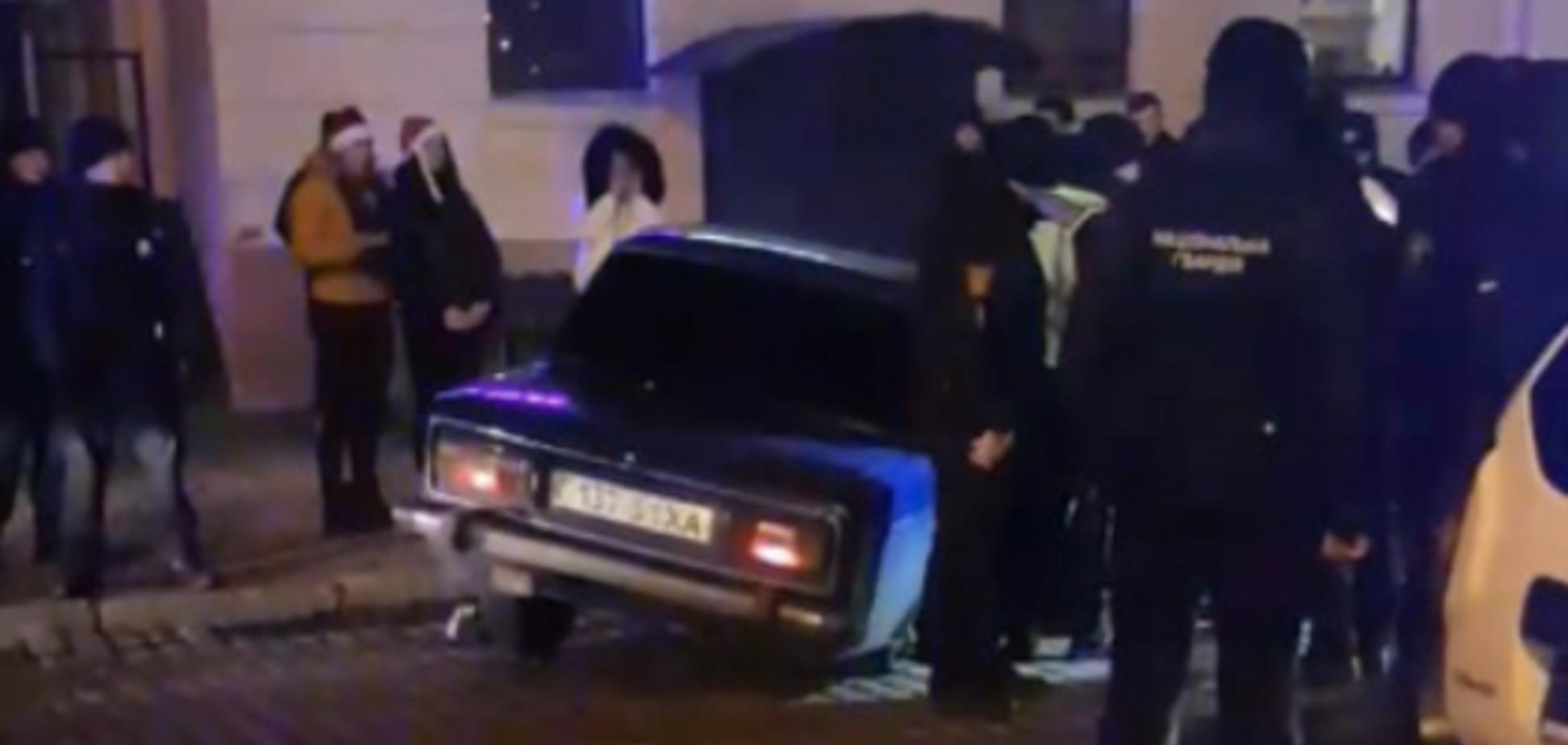 В Одессе в новогоднюю ночь устроили погоню со стрельбой: видеофакт