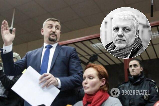 Владислав Добош і Юлія Кузьменко на засіданні суду