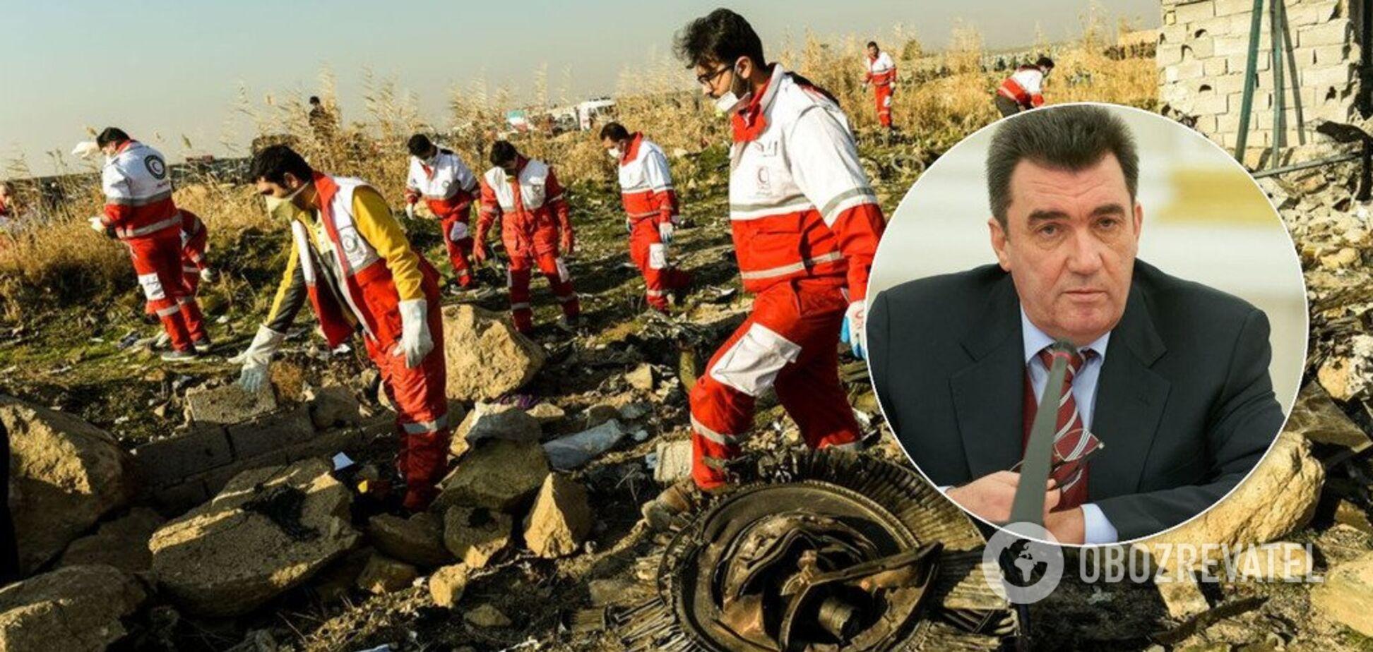 Крушение Boeing в Иране