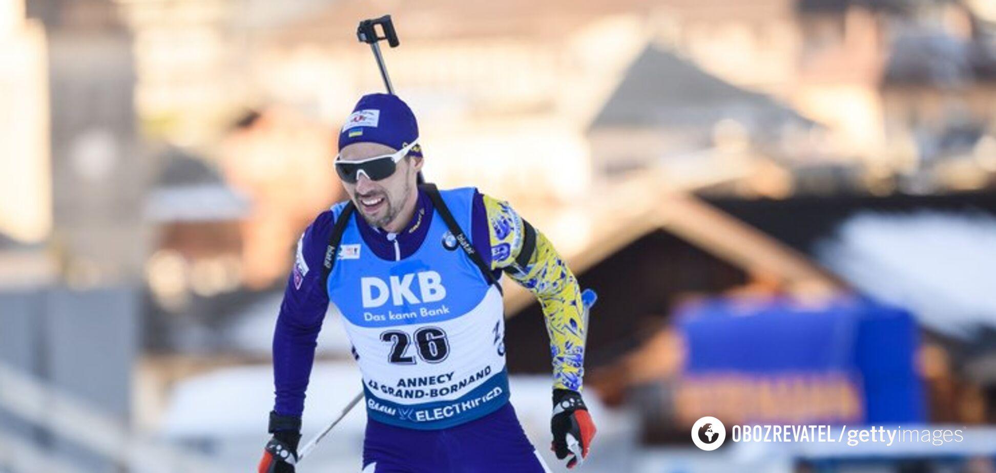 Українці потрапили в десятку найкращих естафети на Кубку світу з біатлону