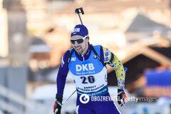 Украинцы попали в десятку лучших эстафеты на Кубке мира по биатлону