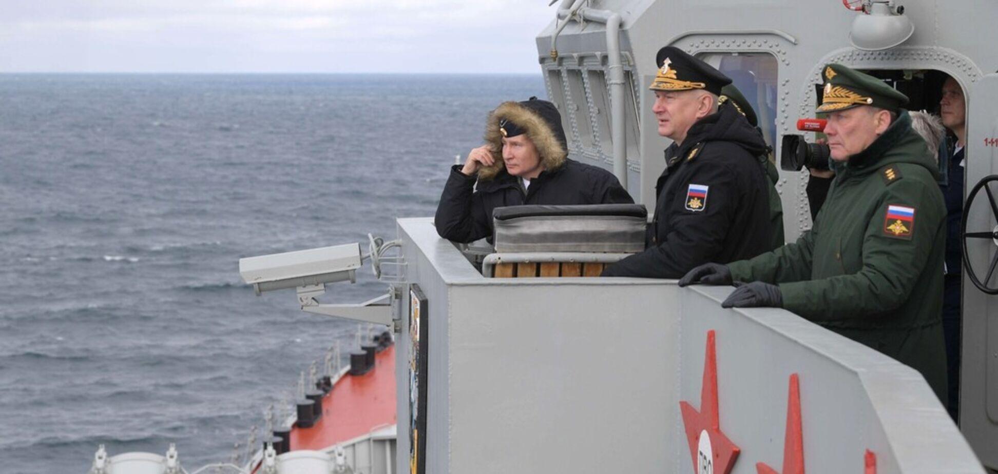 'Путин 'похоронил' Черноморский флот': эксперт заявил о слабости Кремля