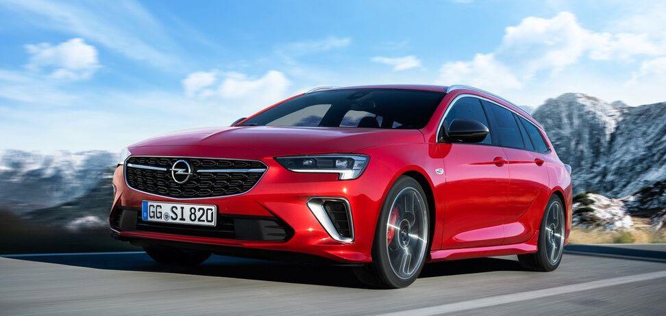 Opel презентовал в Брюсселе флагманскую модель