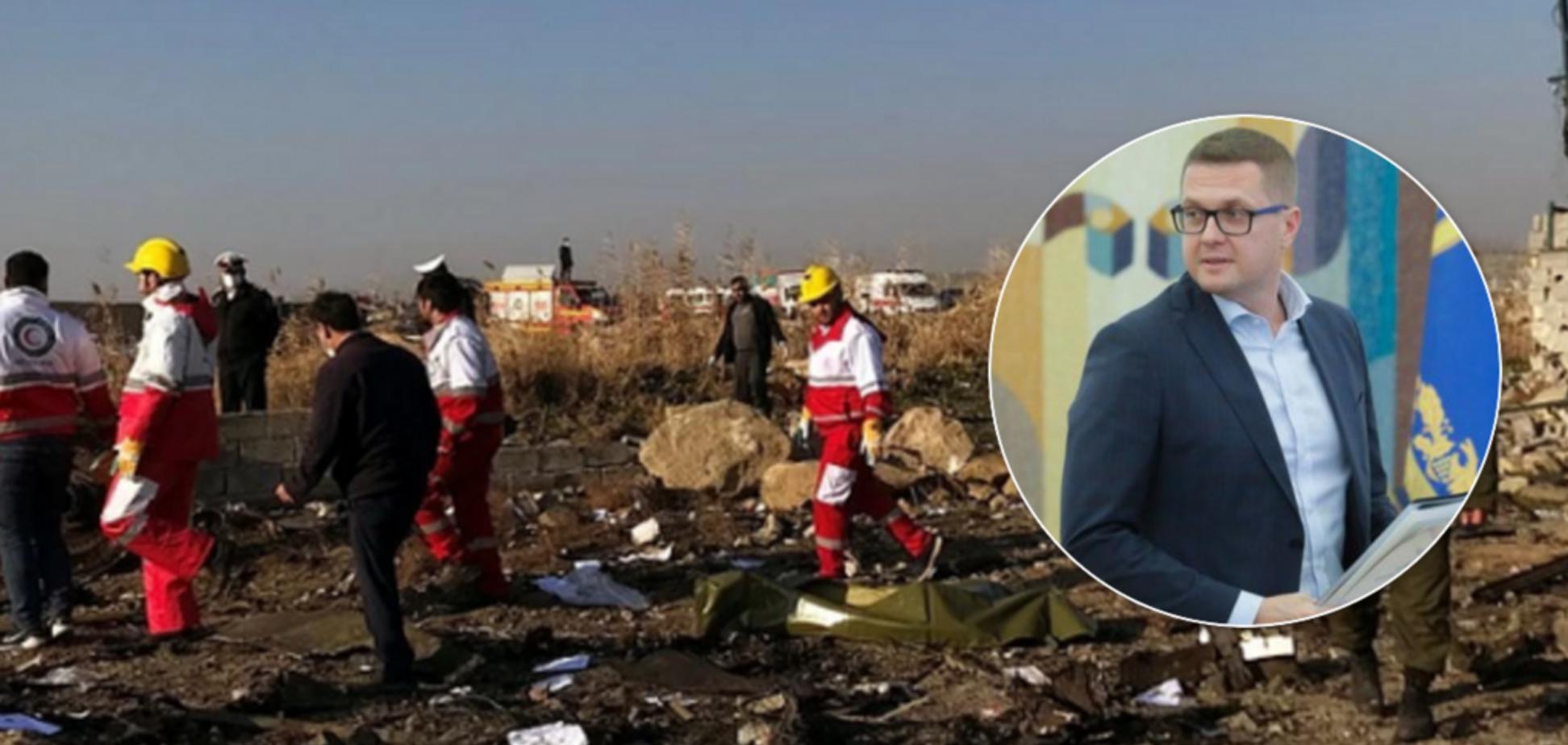 Теракт? СБУ озвучила две версии катастрофы с украинским самолетом в Иране