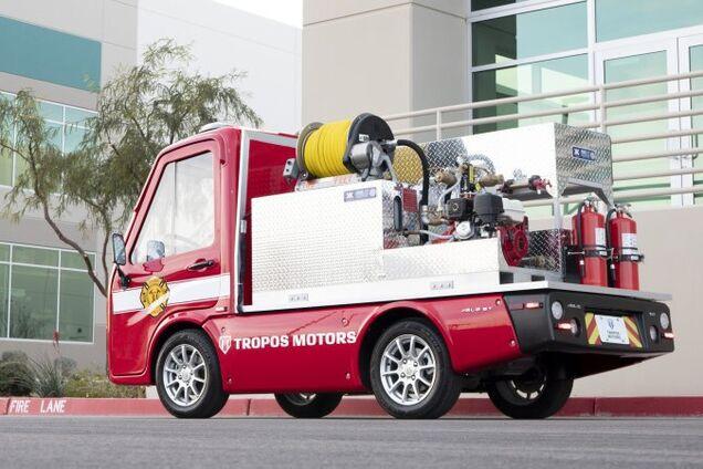 Пожежна машина від Panasonic і Tropos Motors