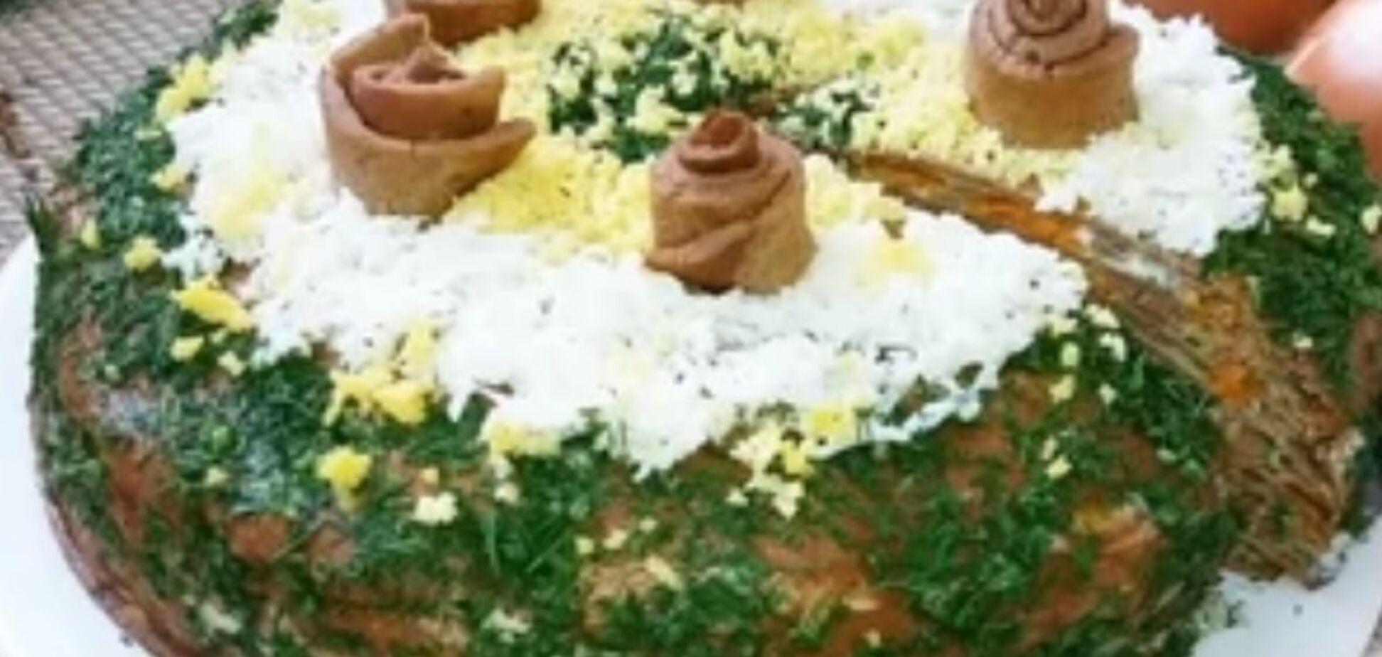 Рецепт самого вкусного печеночного торта