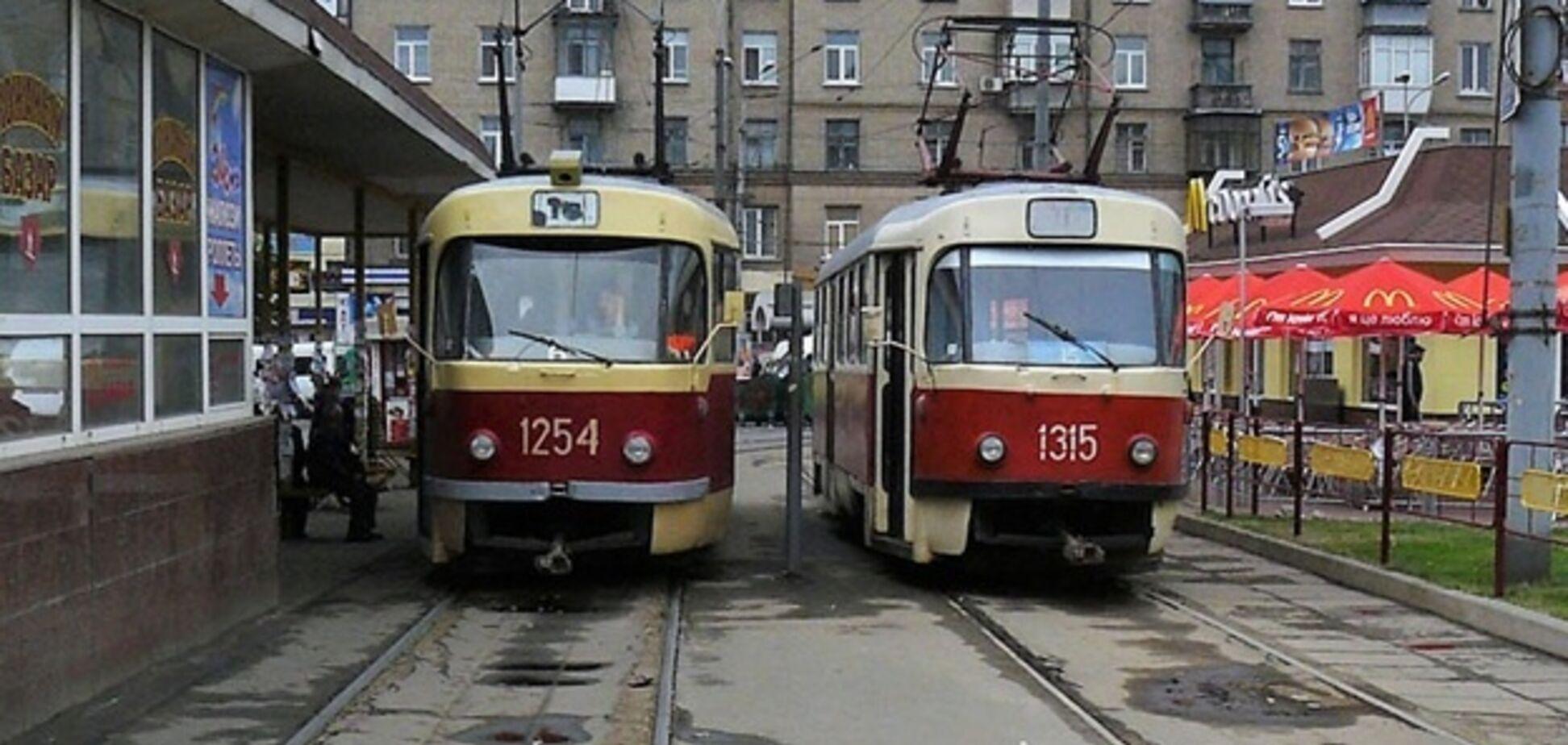В Днепре трамваи изменят график и маршрут . Источник: vgorode.ua