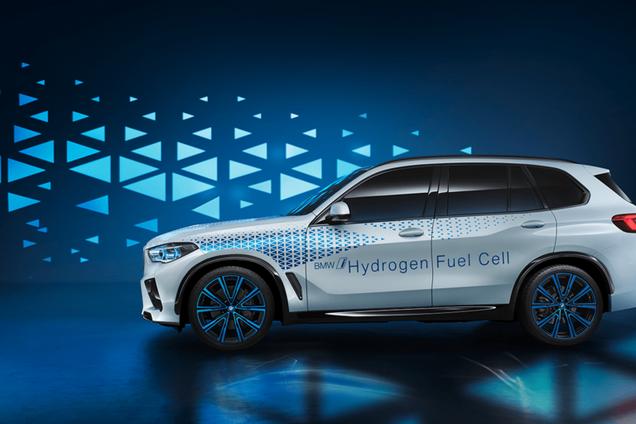 Прототип авто на водородных топливных элементах