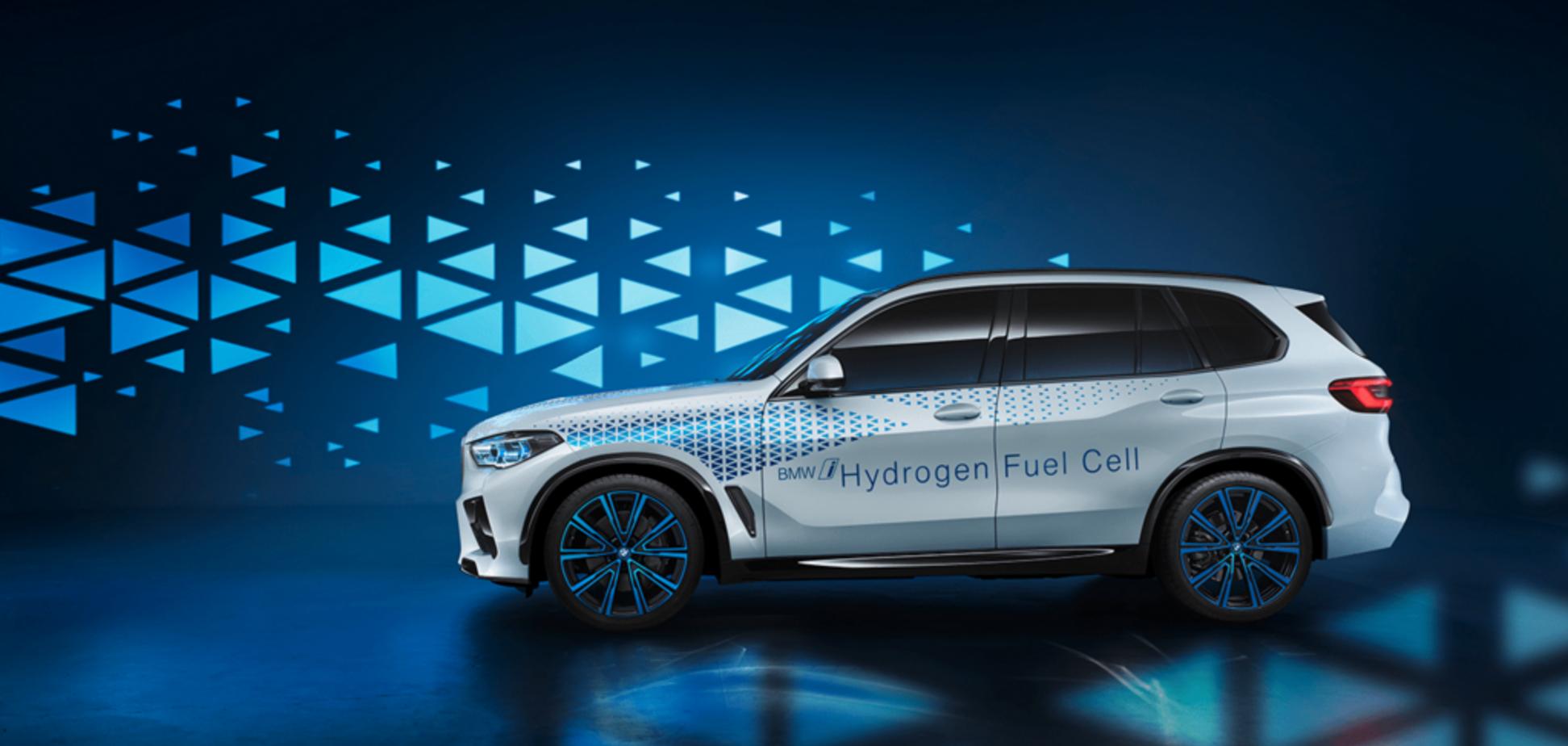 Транспорт нового поколения: BMW создаст авто на водородном топливе