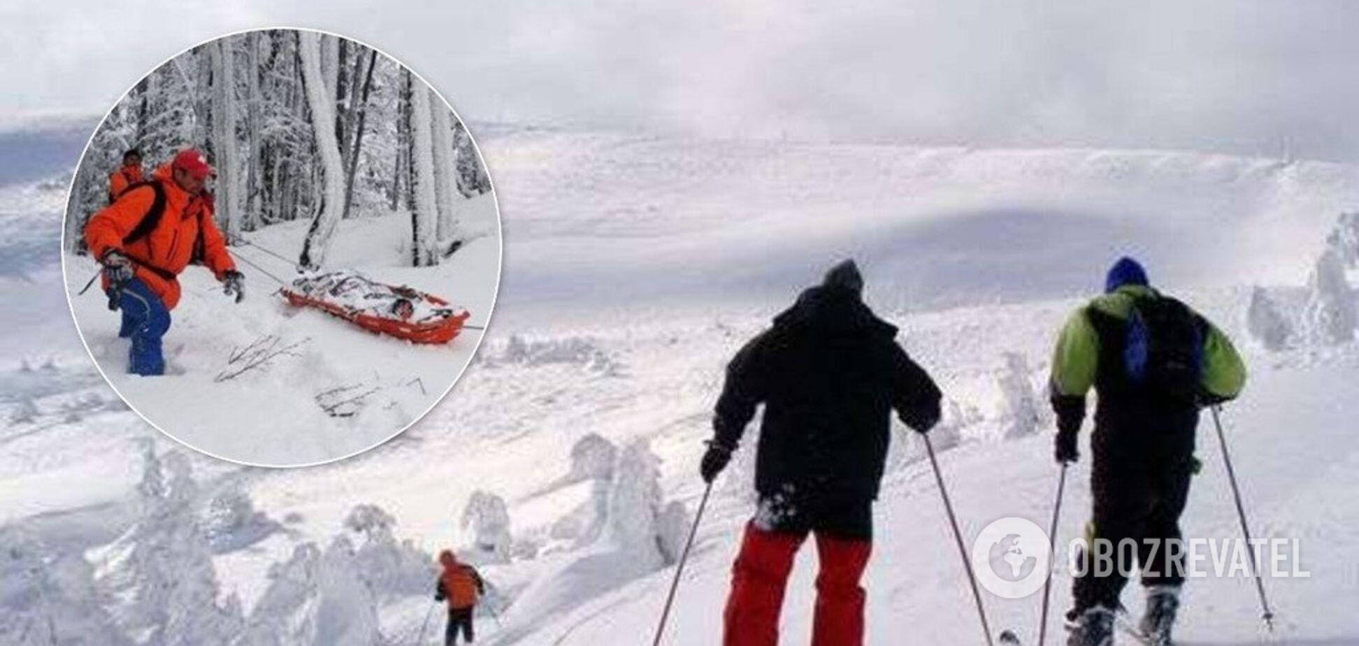 В Карпатах случилось ЧП с туристами-лыжниками