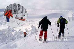У Карпатах трапилася НП з туристками-лижницями