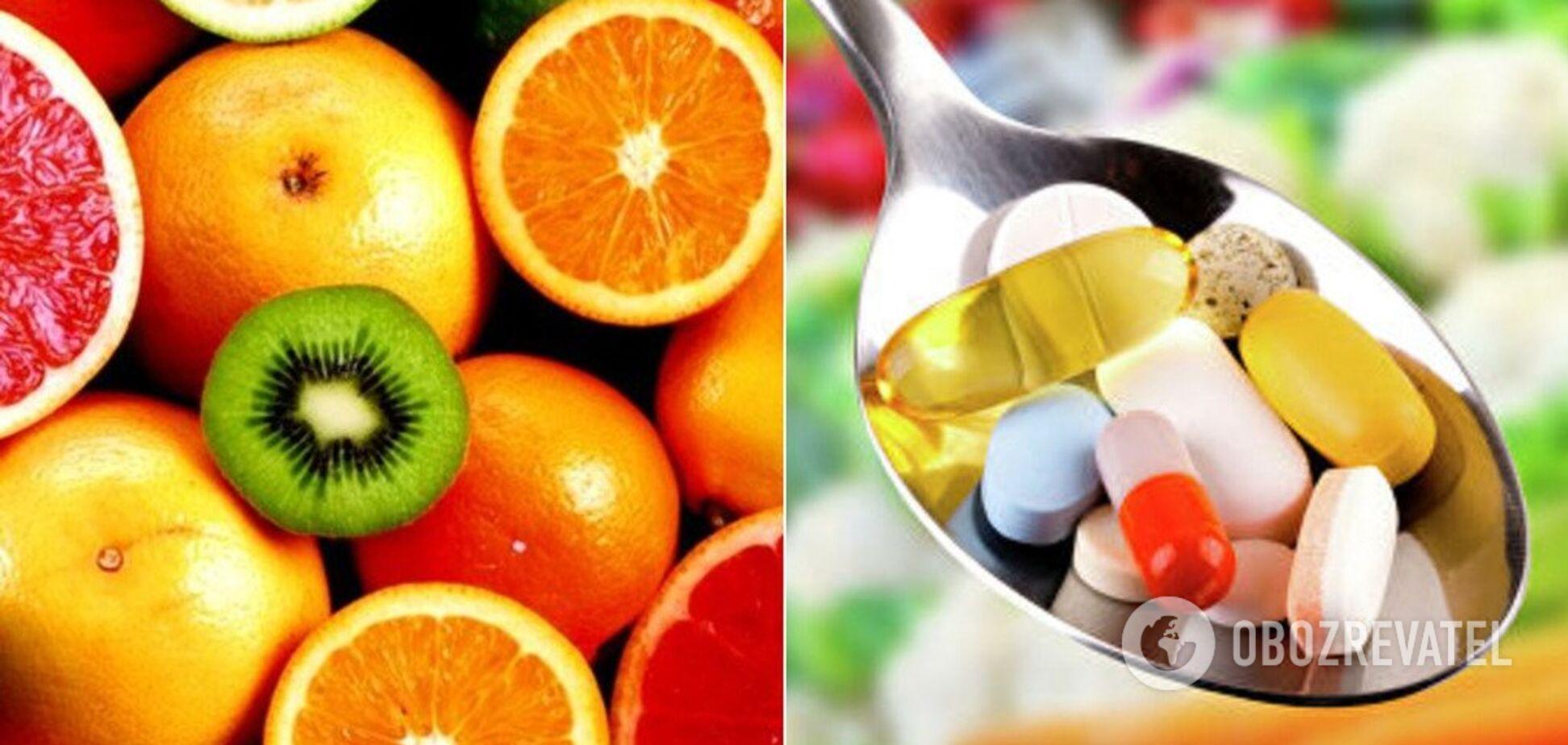 Дієтологиня розвінчала міфи про вітаміни