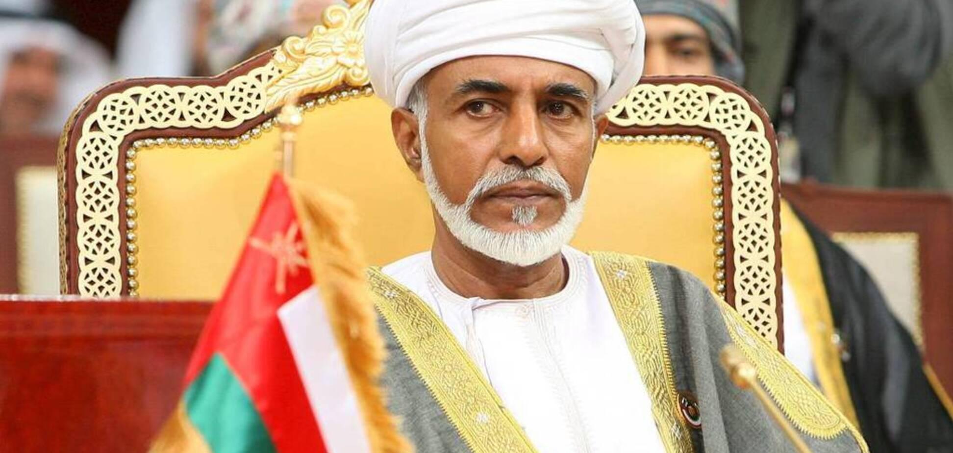 Помер султан Оману, який правив 50 років: оголошений наступник
