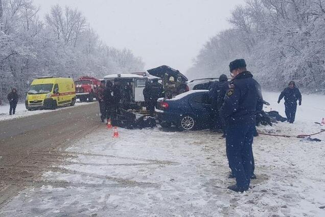 В Орловской области России произошла смертельная авария с украинцами