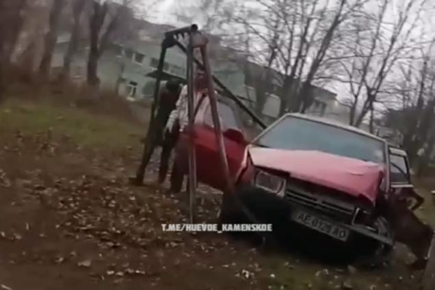 Под Днепром мужчина попал в ДТП после разрыва с женой