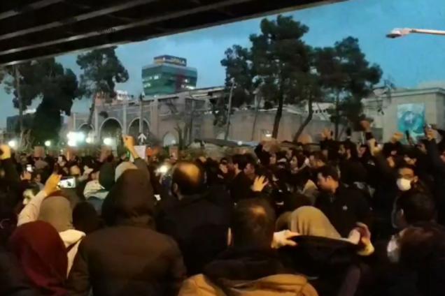 В Иране разгорелись протесты из-за трагедии с самолетом