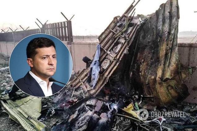 Зеленский выдвинул жесткие требования Ирану по самолету МАУ