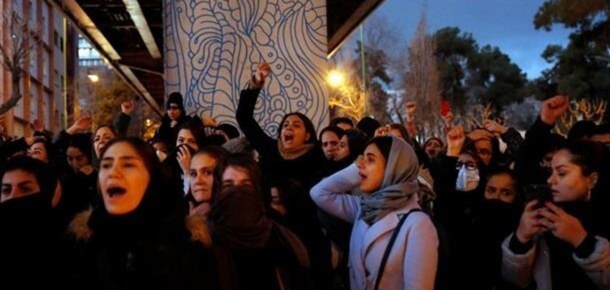 Протесты в Тегеране