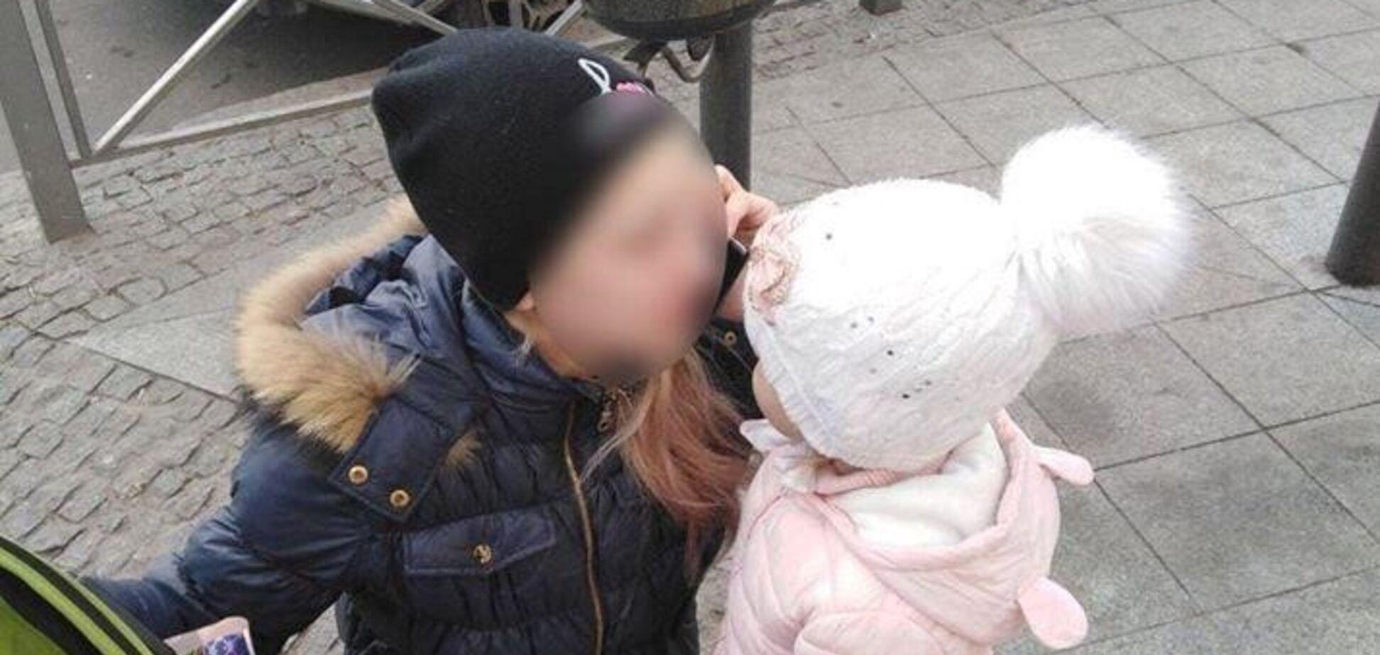 На улице нашли потерявшегося ребенка