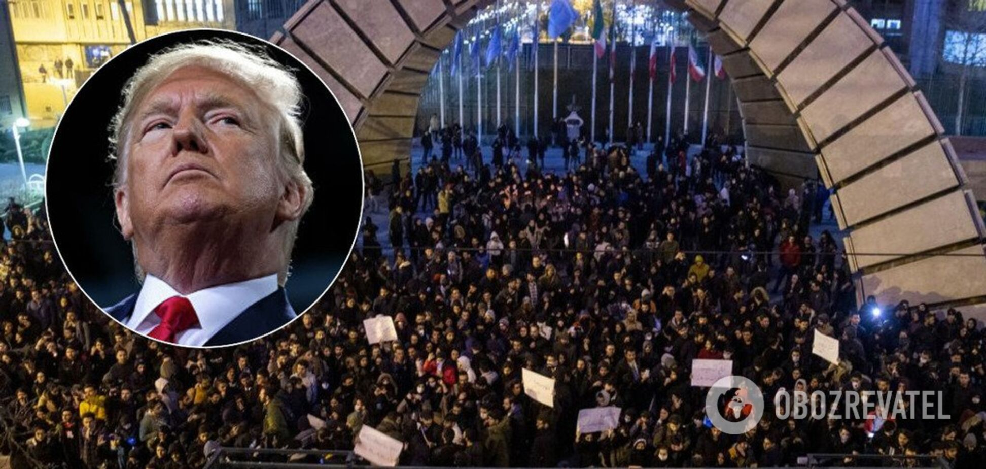 Протести в Ірані і Дональд Трамп