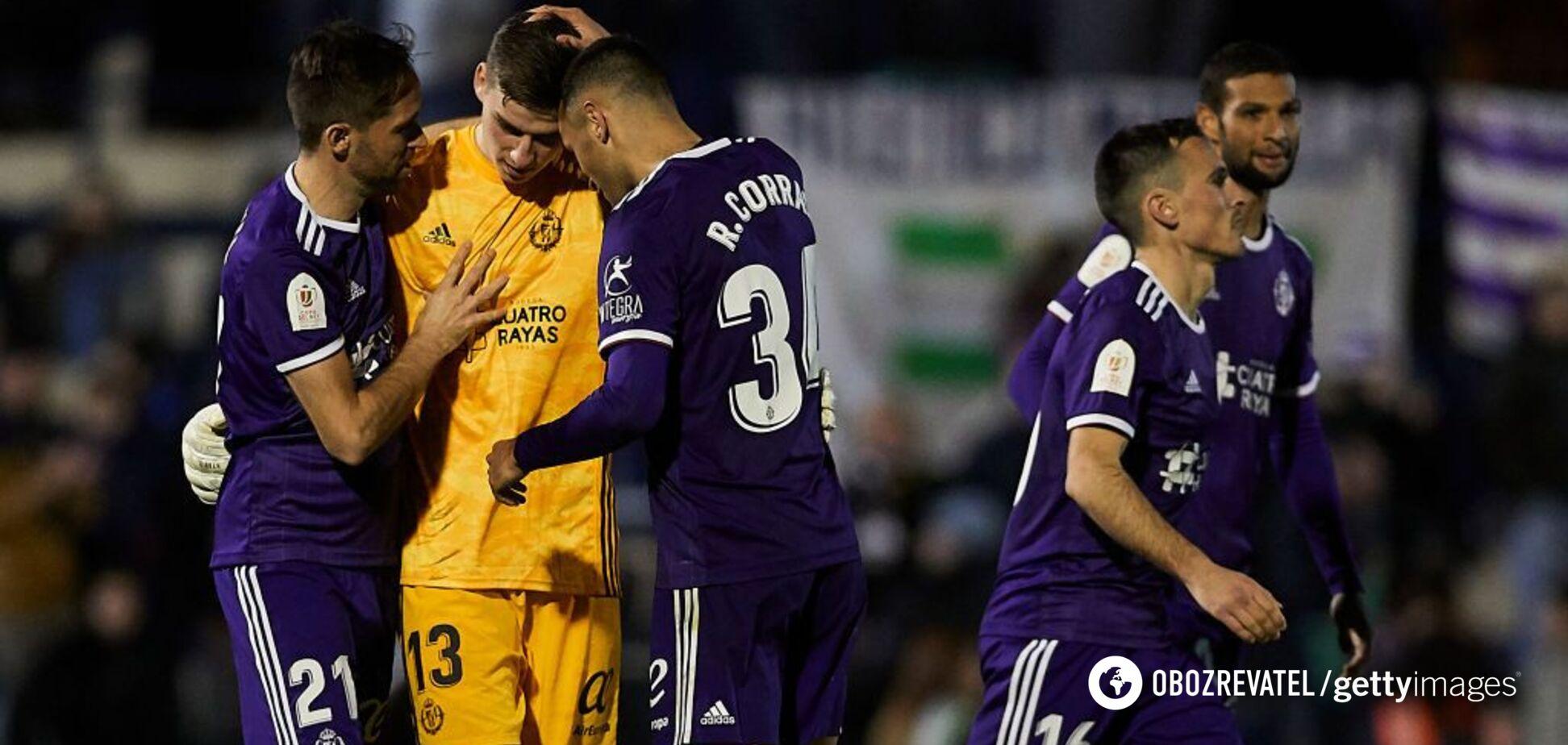 Відбив два пенальті: Лунін справив фурор у Кубку Іспанії