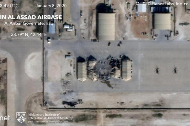 Фото базы США со спутника