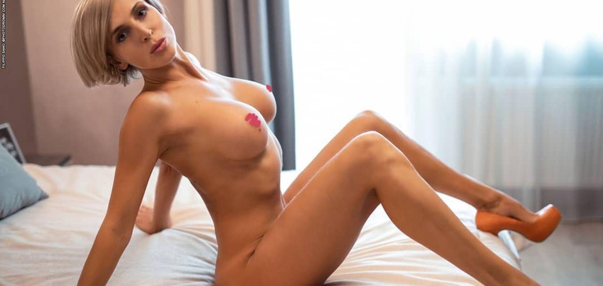 Украинская фитнес-модель показала себя полностью обнаженной, поразив идеальным телом