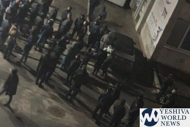 В Умані озброєний натовп побив євреїв біля могили рабина