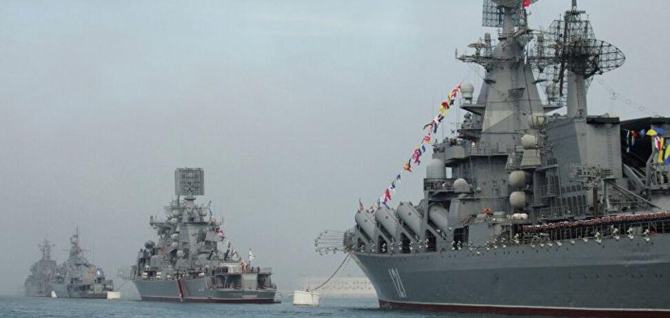 Кораблі Росії в Чорному морі