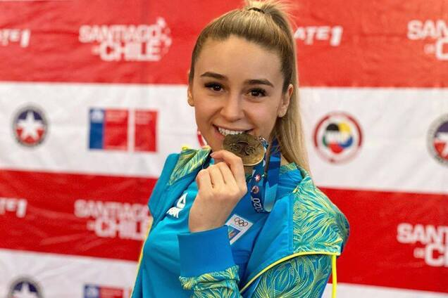 Анжелика Терлюга - чемпионка соревнований в Чили