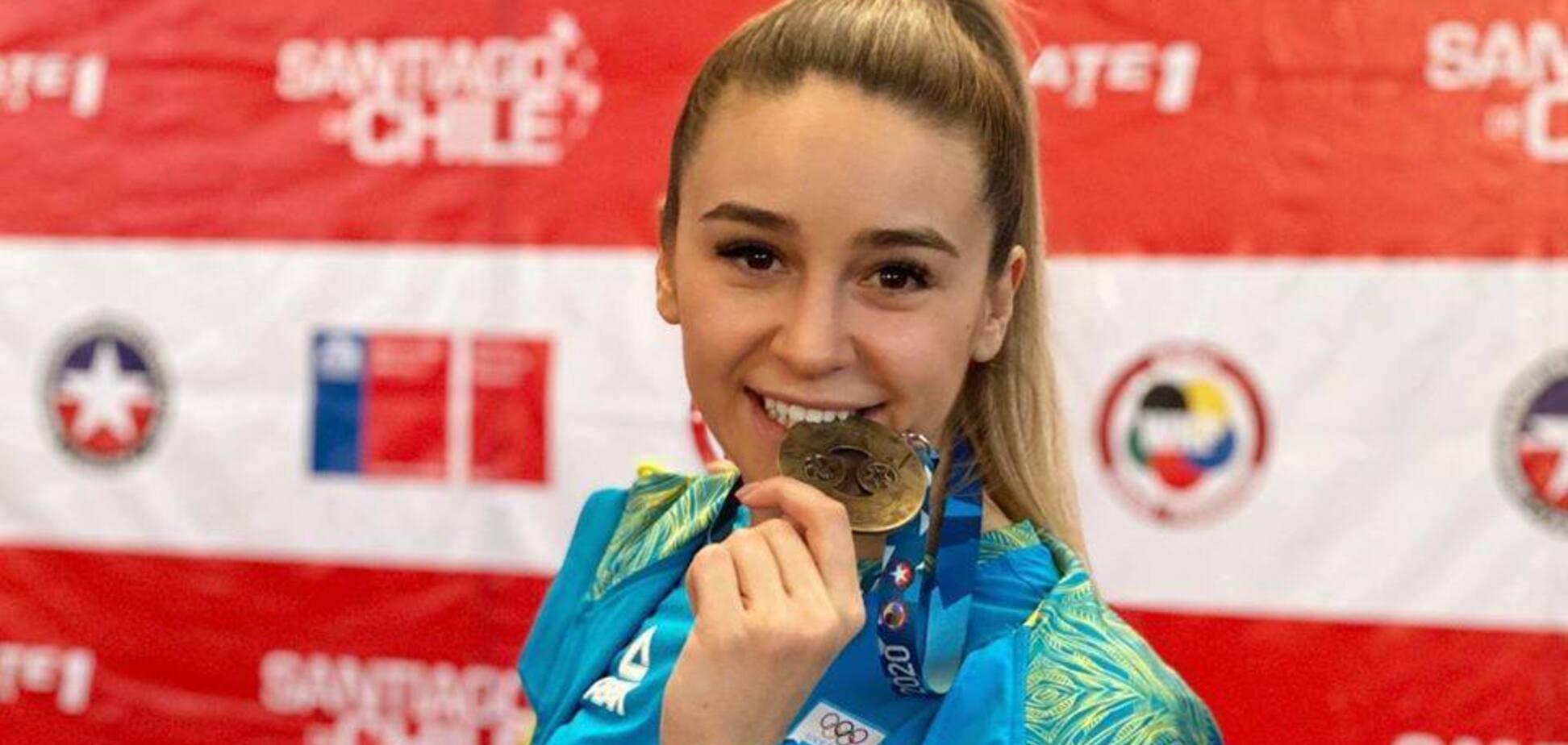 Одна з найкрасивіших українських спортсменок виграла турнір з карате в Чилі