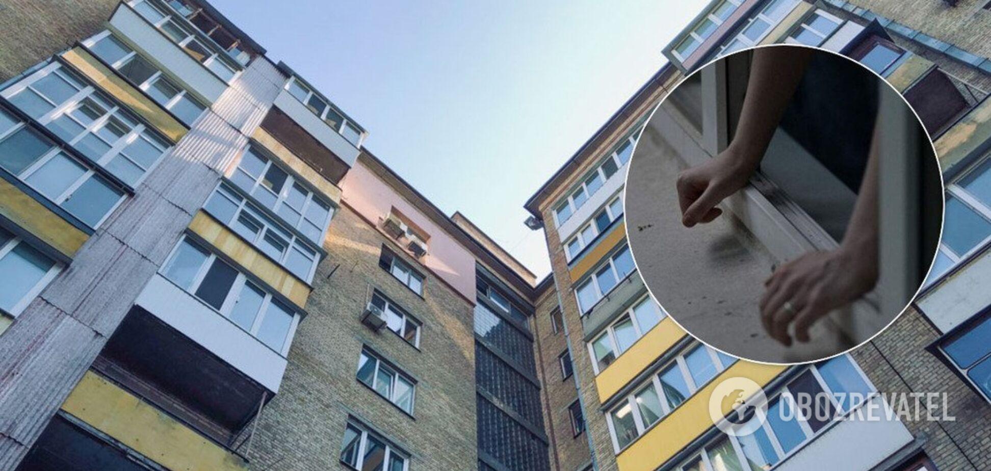 Во Львове 21-летняя девушка с порезанными венами выпала из окна