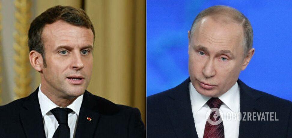 Путін та Макрон ухвалили термінове рішення щодо ядерного договору Ірану