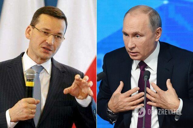 Матеуш Моравецький і Володимир Путін