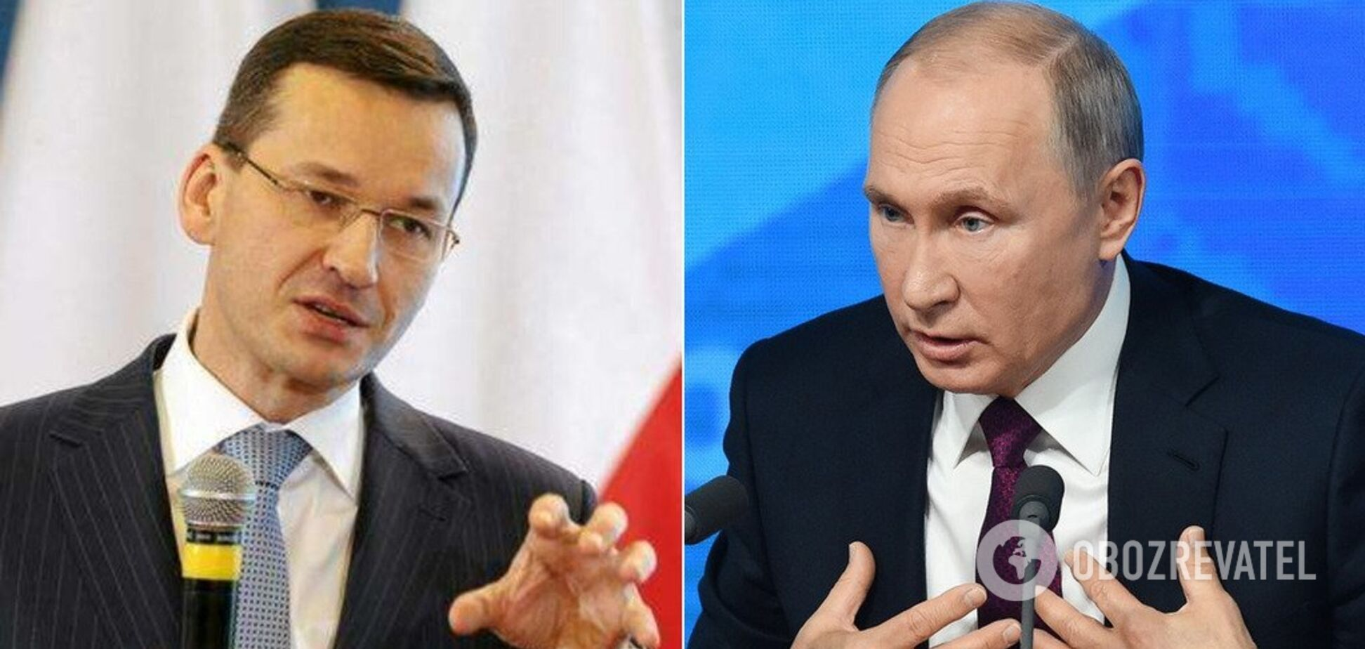 'Он неоднократно лгал!' Премьер Польши жестко ответил на 'исторические' заявления Путина