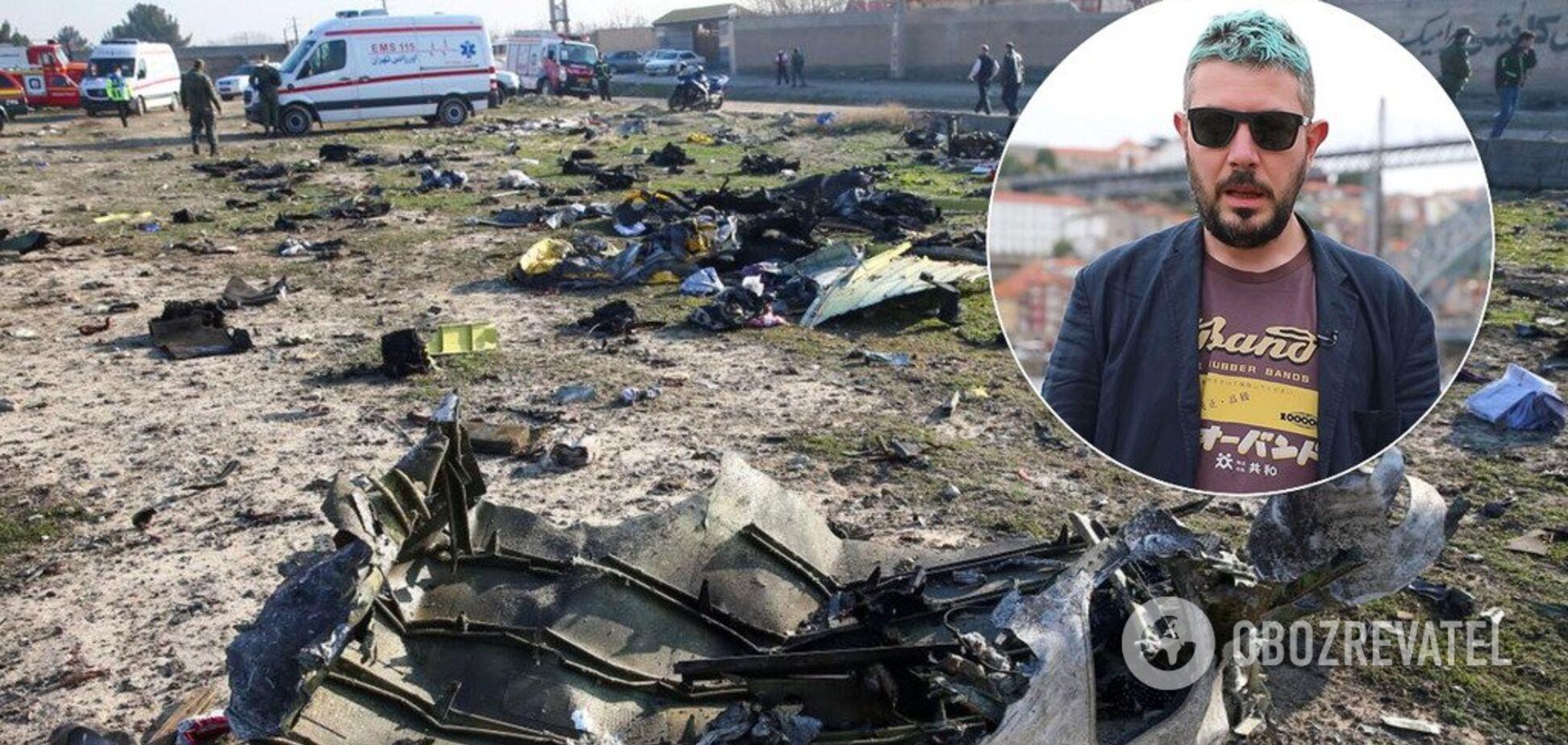 Артемий Лебедев оскандалился из-за сбитого борта МАУ