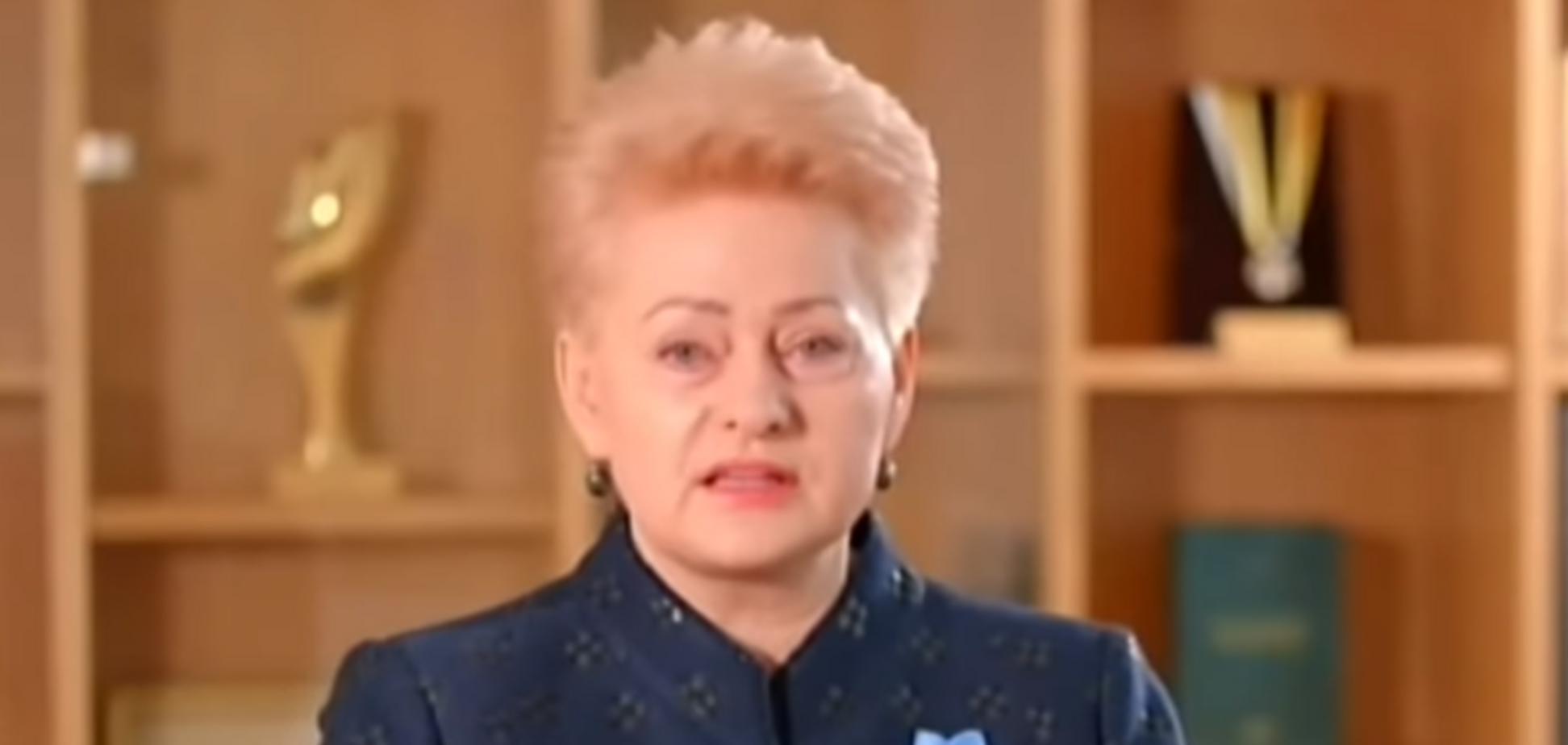 Грибаускайтевызвала восторг обращением к украинцам