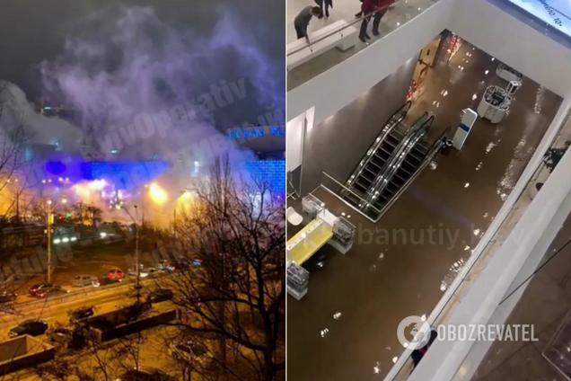 Потоп в Ocean Plaza: видео с камер наблюдения