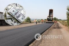 Рекорд в истории: Луганской области на ремонт дорог дали 3,8 млрд гривен