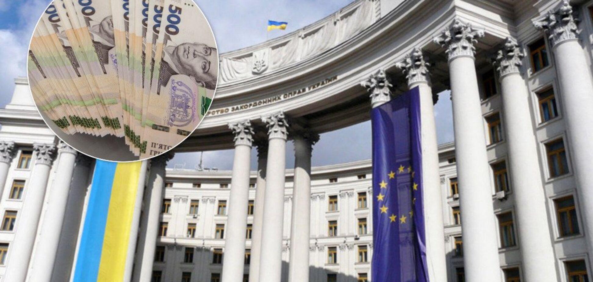 Голова МЗС України у грудні заробив 234 тис. грн: як так вийшло