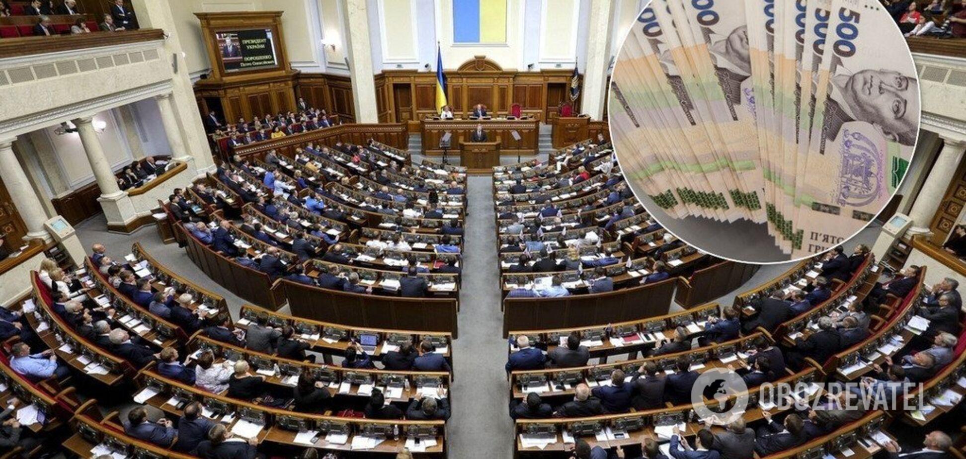Разумков спростував інформацію про 100-тисячні зарплати нардепів